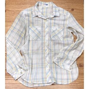 Tops - Vintage Button Down Top